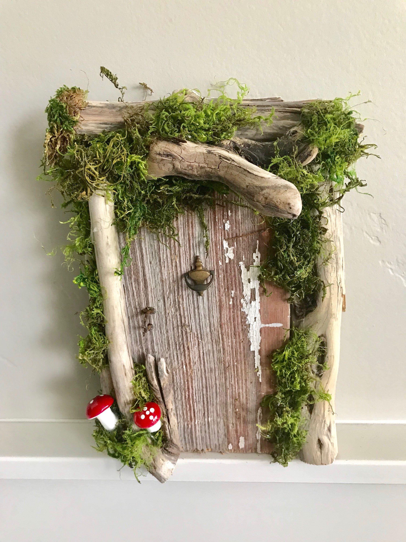 Rustic Fairy Door/Wedding/ Woodland /enchanted forest/ fairy garden