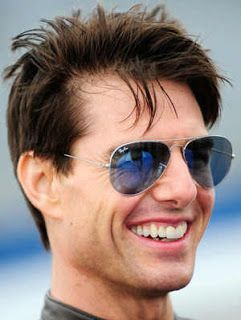 According to Star Magazine, Tom Cruise is using hair loss treatments (this  is before hair transplant) 571e390901