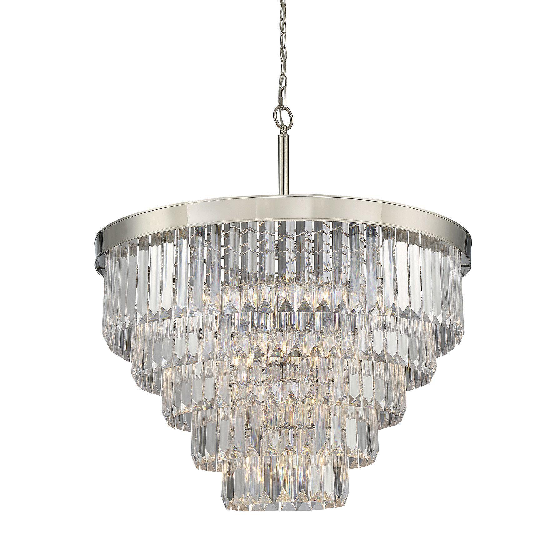 Image result for Westwood 9 Light Crystal Chandelier
