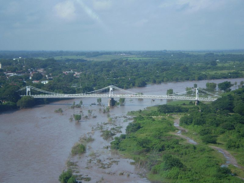 Bridge Over Choluteca River Choluteca Honduras Honduras Tourism Valle