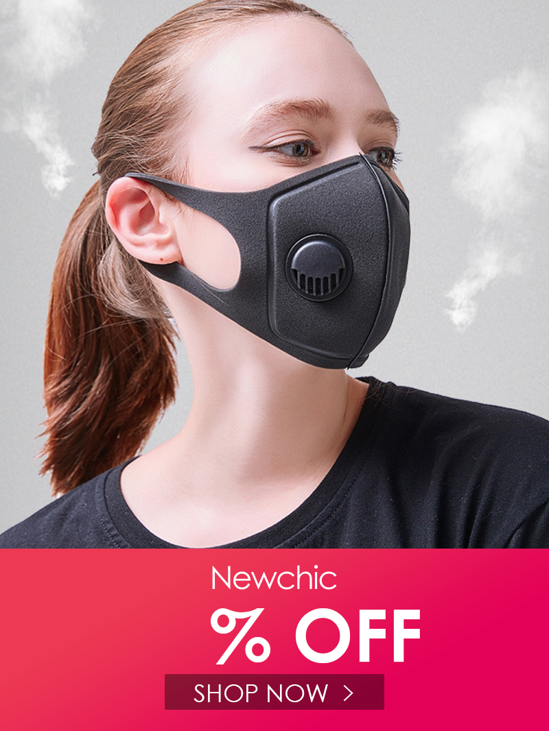 AntiFog Mouth Mask PM2.5 Pollen BustProof 3D Cropped