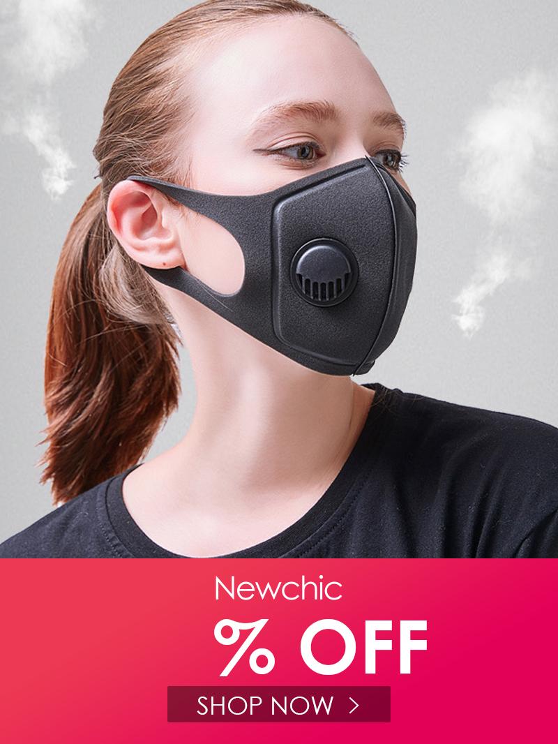AntiFog Mouth Mask PM2.5 Pollen BustProof 3D Cropped