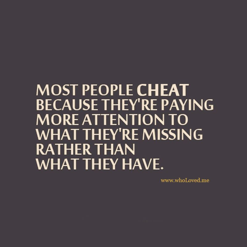 True cheater