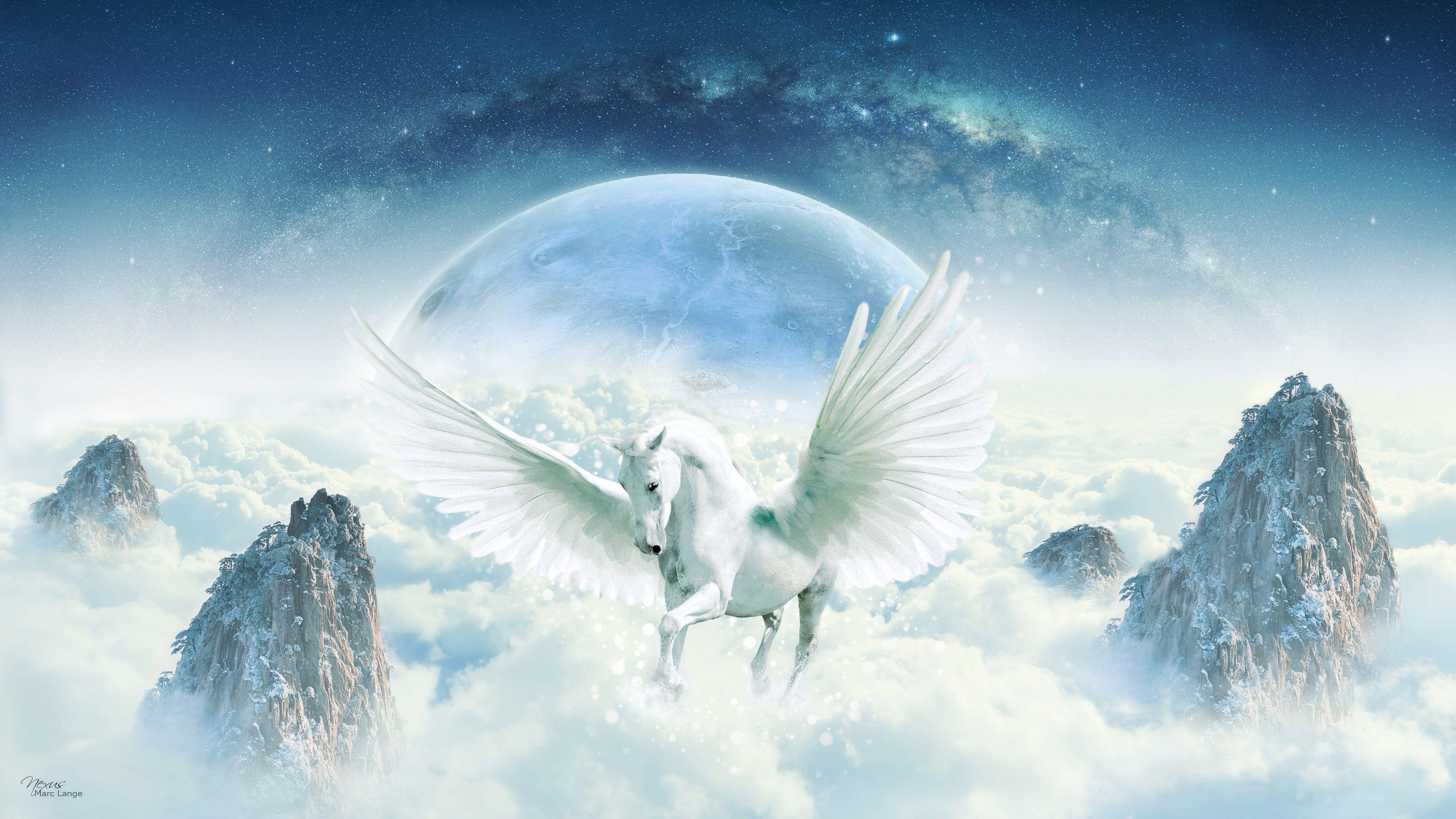 3840x2160 Unicorn 4k Free Full Screen Wallpaper Unicorn Wallpaper Unicorn Backgrounds Screensaver Pictures