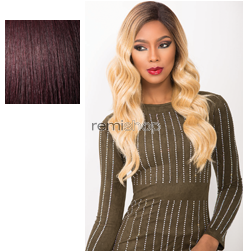 Cloud9 Swiss Lace Wig Maria - Color 99J - Synthetic (Curling Iron Safe) Swiss Lace Front Wig - Silk Lace Part