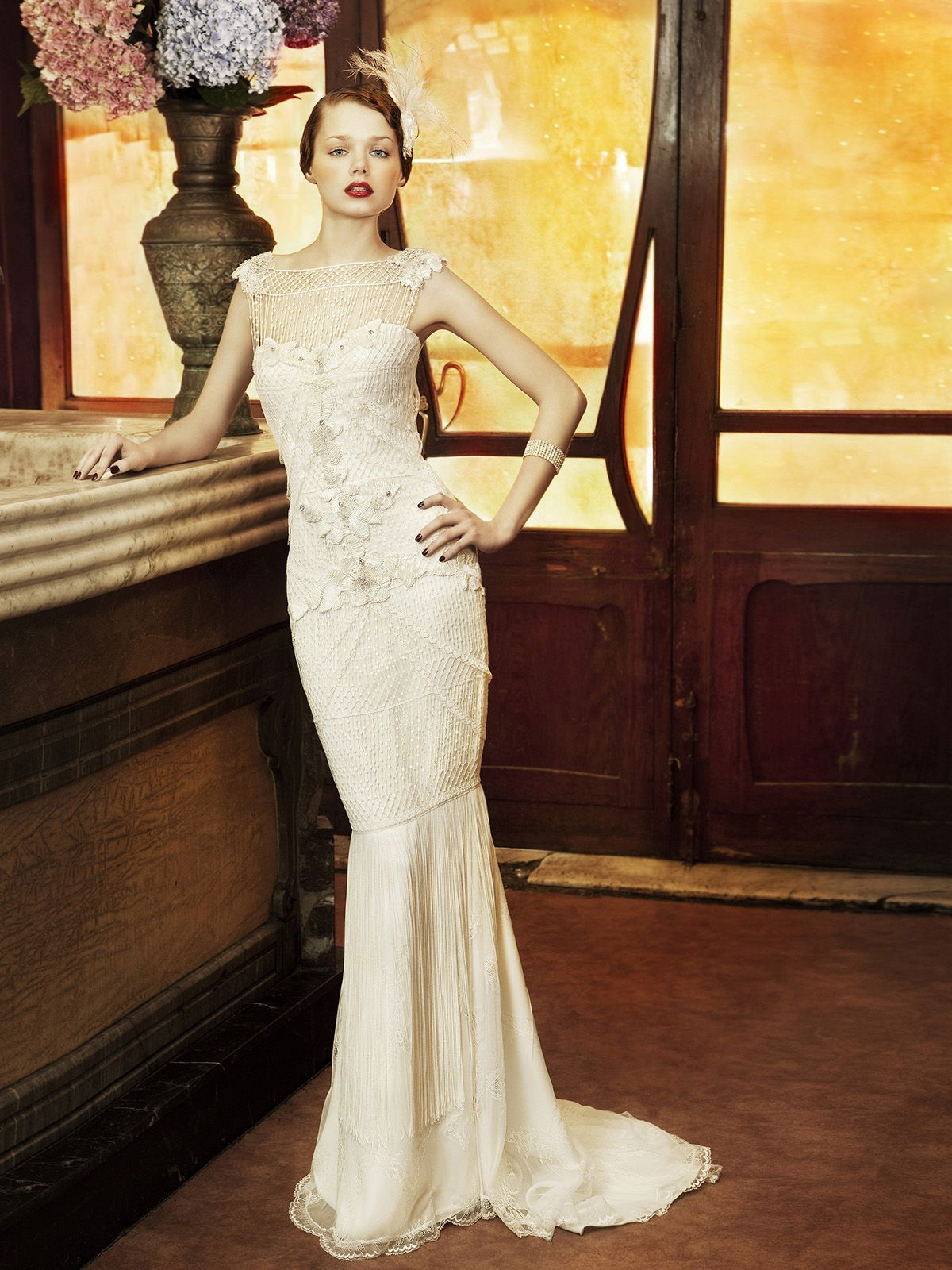 Yolan Cris 2017 Wedding Dresses From Revival Vintage Bridal Collection Copenhague Gown That S Awesome