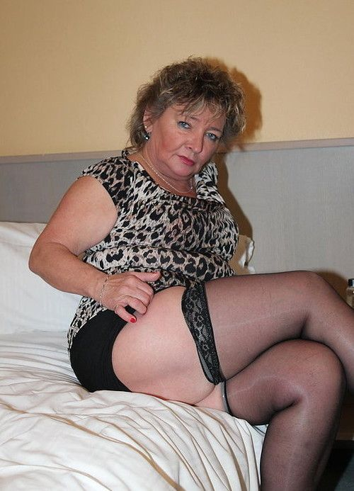 Hot Granny In Stockings  Sexy Grannies  Pinterest -8609