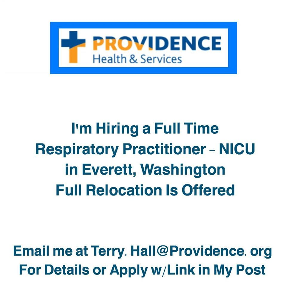 Are you a Respiratory Care Practitioner Specializing in