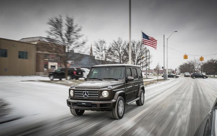 Descargar Fondos De Pantalla 4k, Mercedes-Benz Clase G