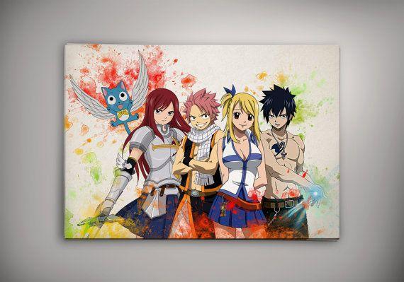 Volcaloid Print Poster Watercolor Wall Art Anime Poster Otaku Gift V3