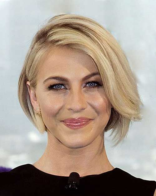 Beautiful Short Bob Hairstyles And Haircuts With Bangs Female