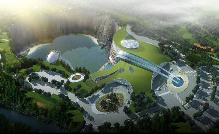 Hasil gambar untuk The Intercontinental Shanghai Wonderland