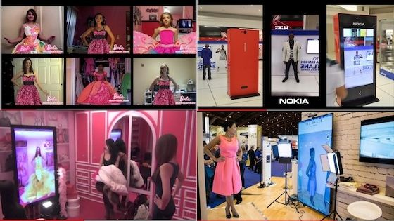 We've recently created a video showcasing different examples of our Virtual Dressing Room Technology for Omnichannel Retail.