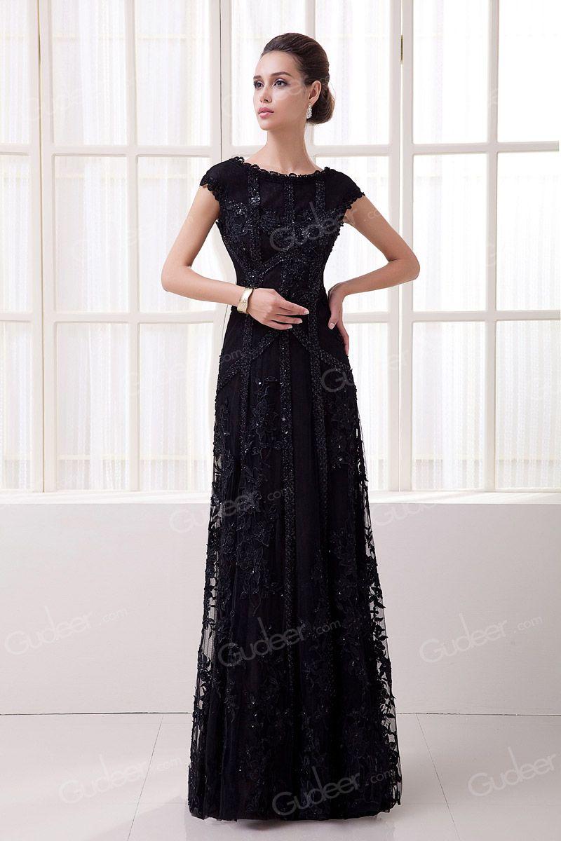 A Line Long Evening Dresses
