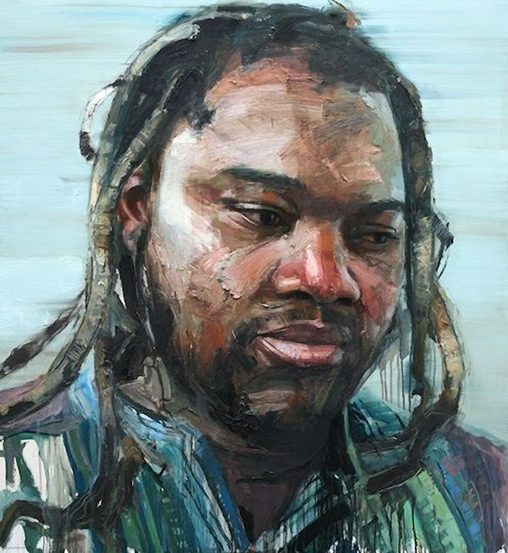 """Wilson Magwere"" Colin Davidson, oil on linen, 2012"