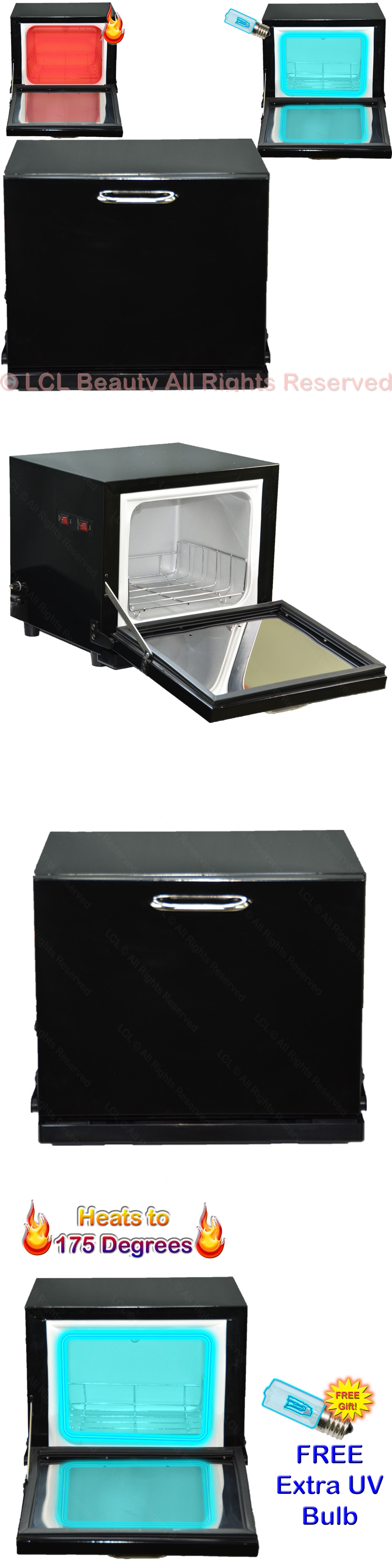Sterilizers and Towel Warmers: Mini Uv Hot Towel Warmer Cabinet Sanitizer Sterilizer Beauty Salon Equipment - B -> BUY IT NOW ONLY: $79.88 on eBay!
