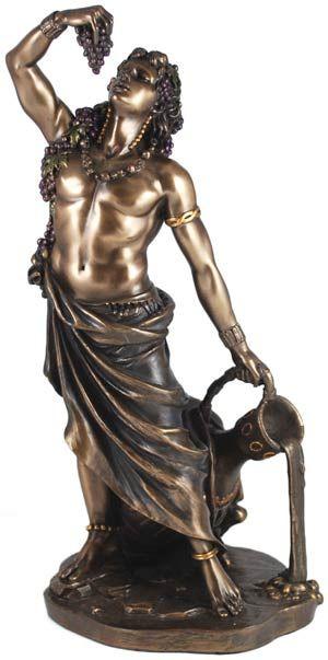 Dionysus/Bacchus Statue The Greek god of wine and plenty ...