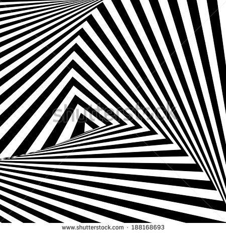 A black and white optical illusion  by Shagaleeva Valentina, via Shutterstock