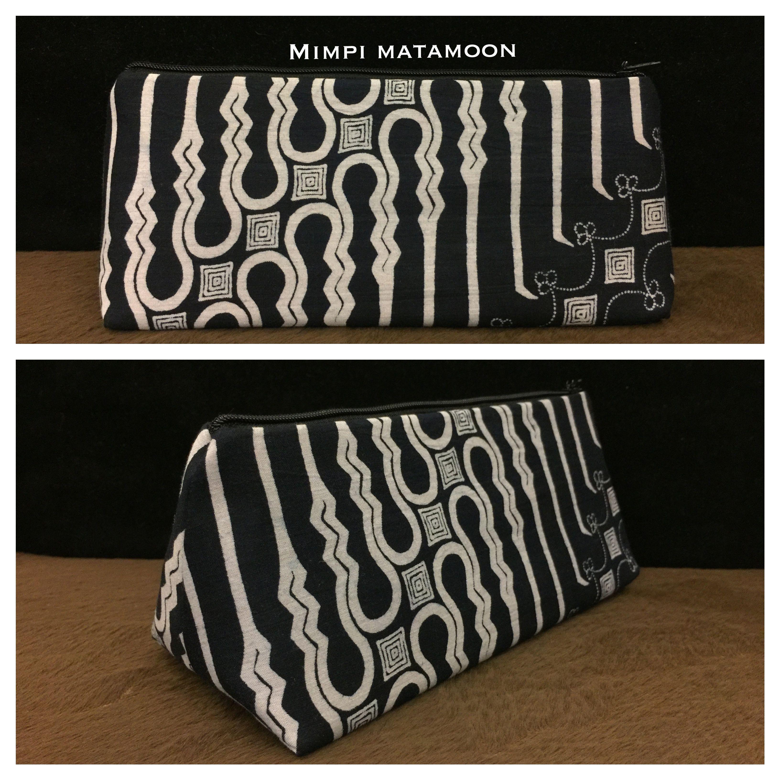 2118TMIBTK Black&White Batik Nusantara #mimpimatamoon