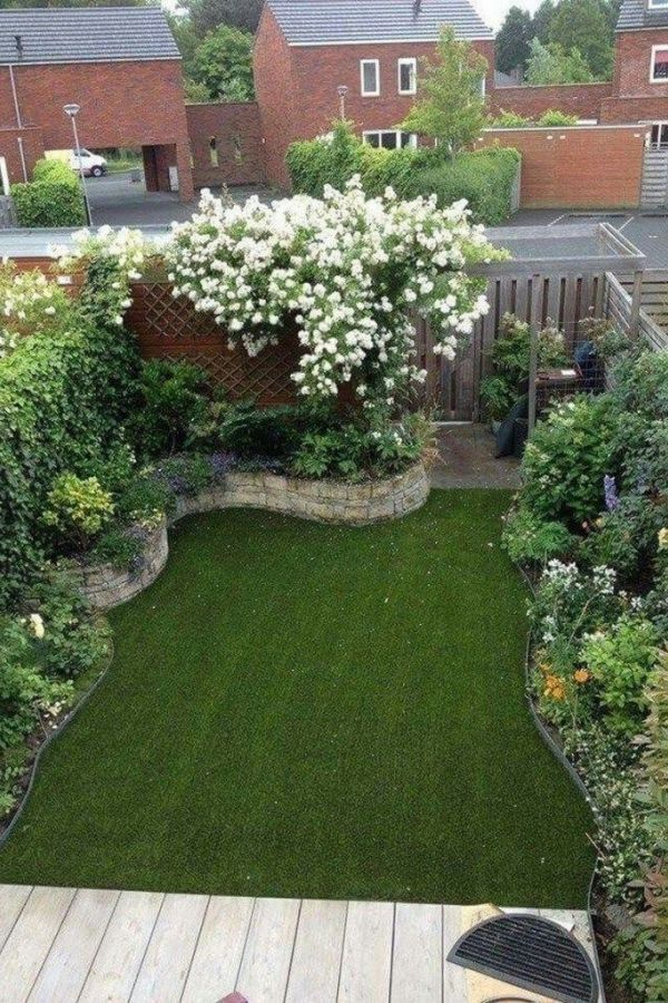 Popular Backyard Garden Design Ideas And Remodel 13 #backyardremodel