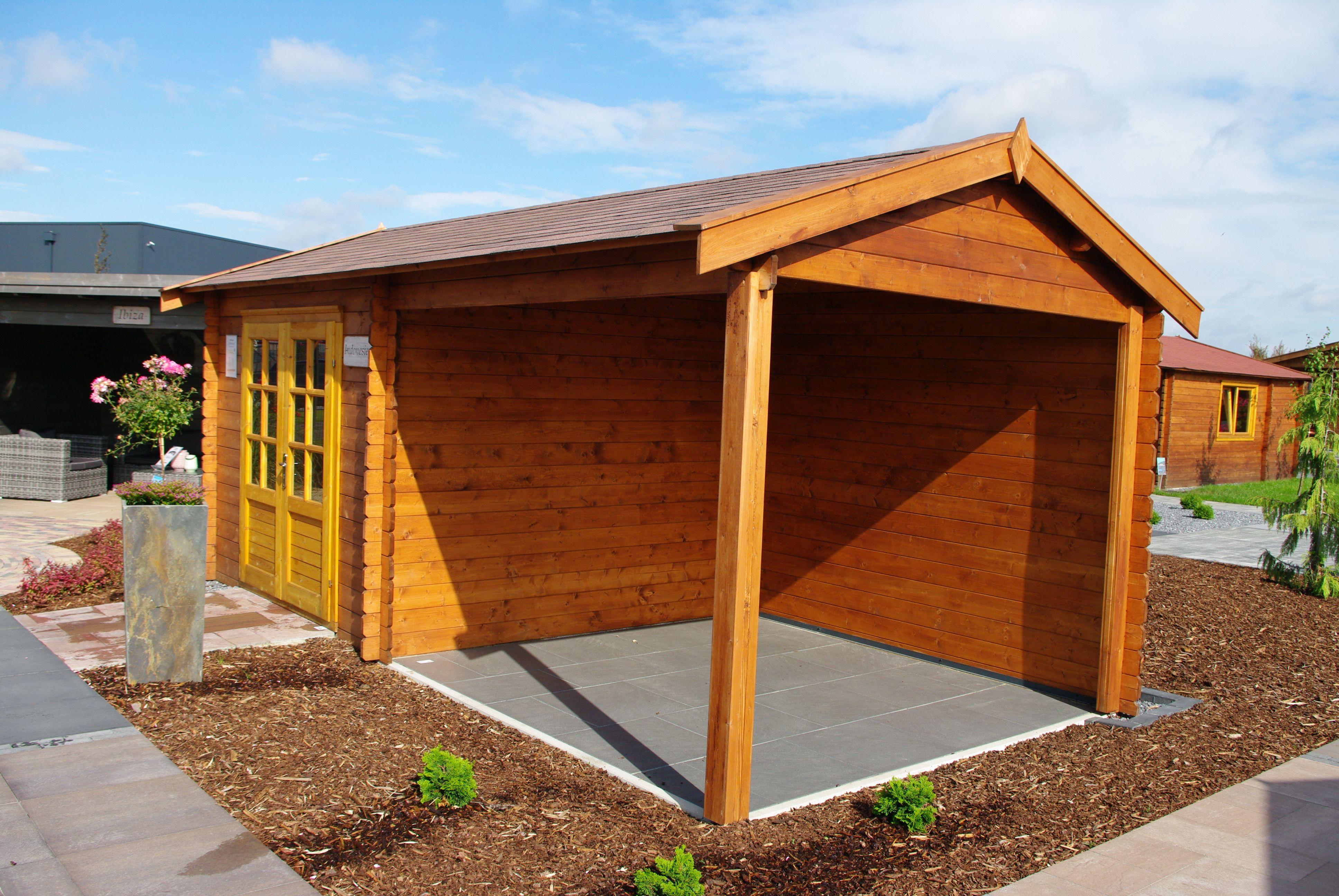 Pin Von Steda Carports Gartenhause Auf Gartenhauser Gartenhaus Bausatz Gartenhaus Garten Design