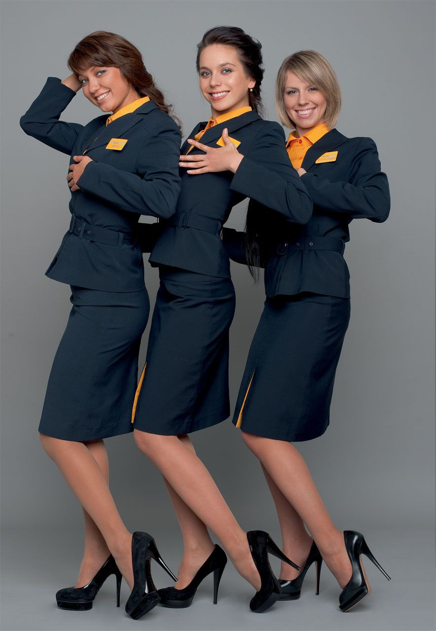 airline stewardesses Russian