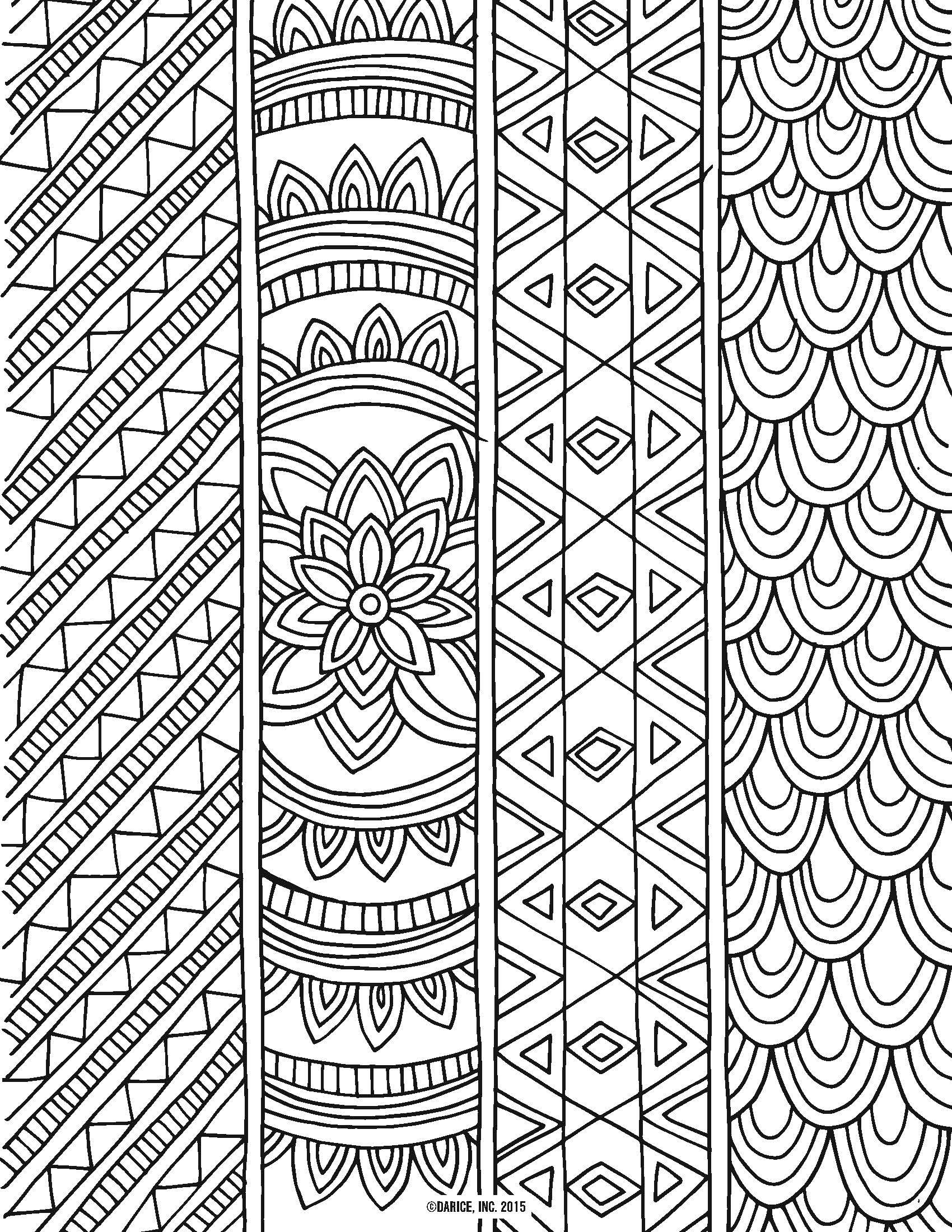 Try out the adult coloring book