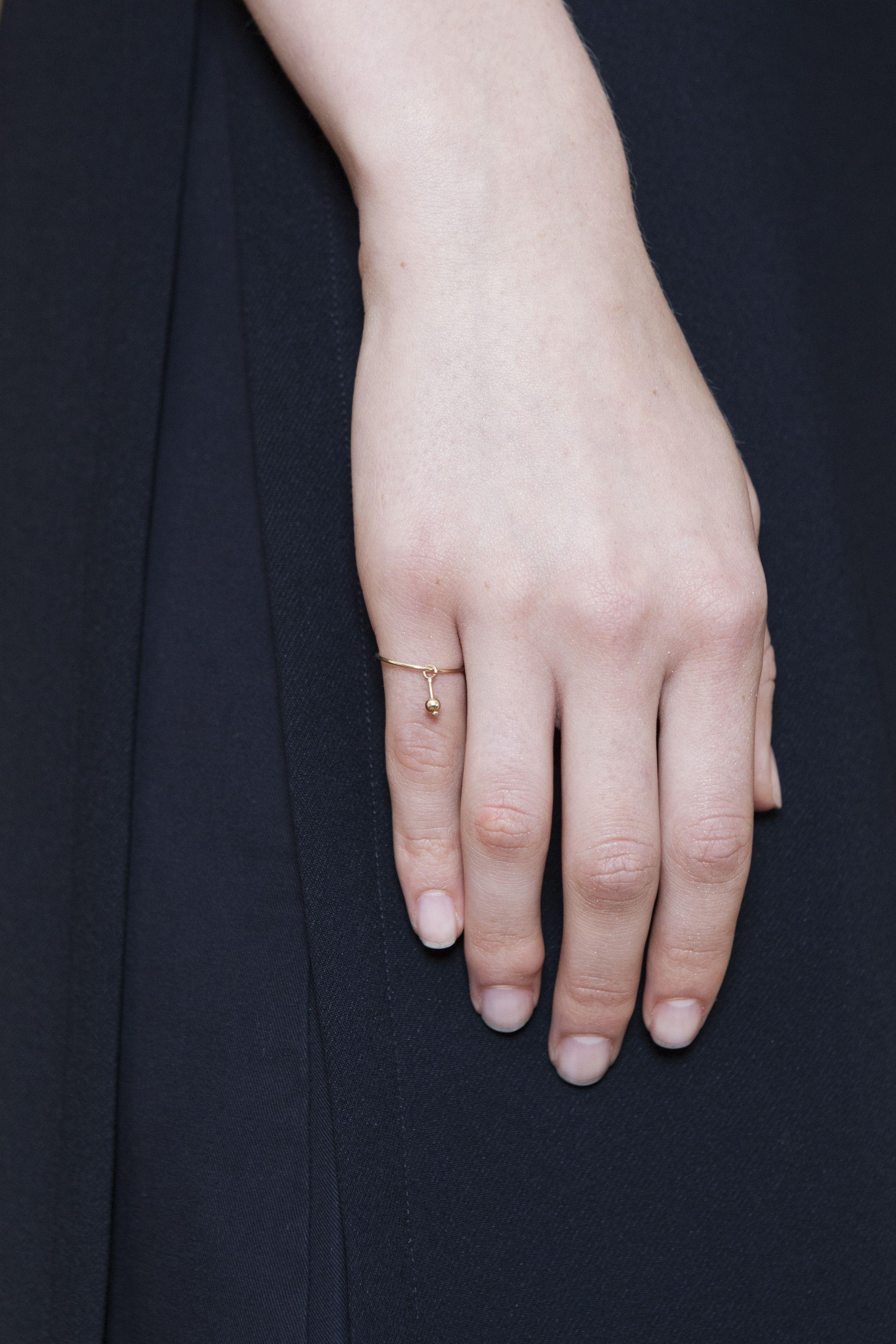 ring - jolie - Anna Lawska Jewellery / collection - closeness - / photo - Katarzyna Tur
