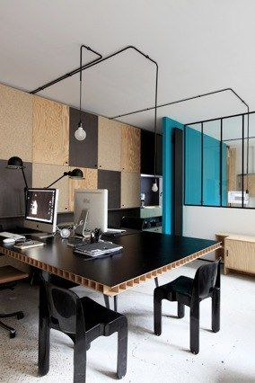 atelier premier etage pocket gallery architecte d 39 interieur workspaces studios pinterest. Black Bedroom Furniture Sets. Home Design Ideas