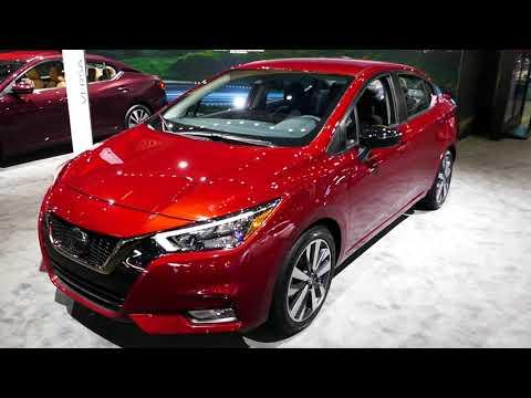 New 2020 Nissan Versa Exterior Interior Tour 2019 La Auto Show Los Angeles Ca Youtube Automotive Vehicles Car