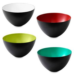 The iconic krenit bowls, deisgned in the 1950's are being made again by Normann Copenhagen