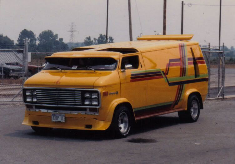 Jack Daniels Chopped Chevy Custom Vans Cool Vans Vans