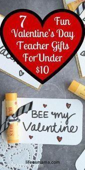 Photo of 7 Spaß Valentinstag Lehrer Geschenke für unter 10 $ 7 Spaß Valentinstag Lehrer – Valentinstag Ideen