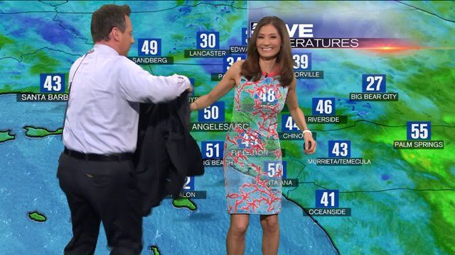 Wardrobe Fail Is Los Angeles Meteorologist Liberté Chan's Nightmare