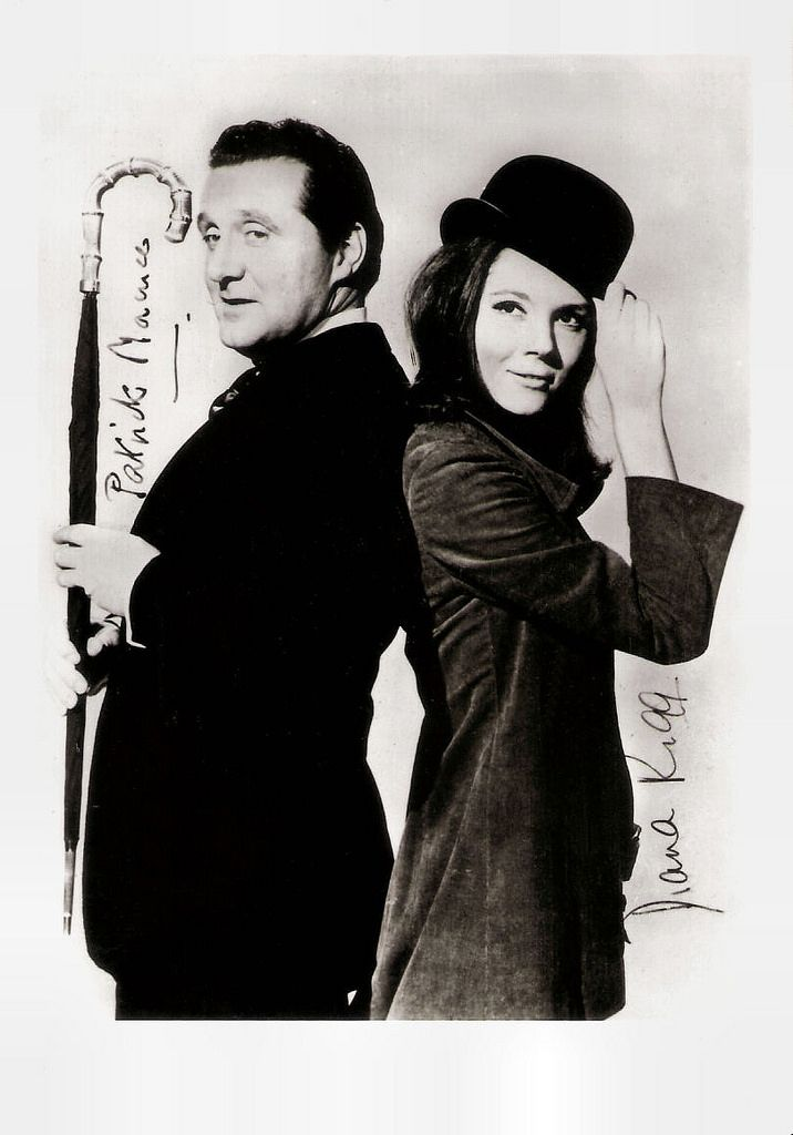 53b0738d43572 Patrick Macnee and Diana Rigg in The Avengers