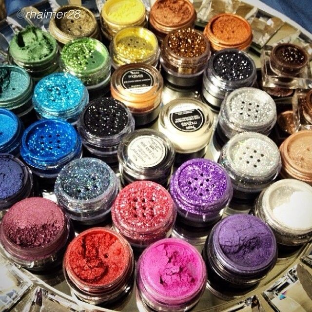 Paint Pots, Glitter Pots, and Shimmers by Motives