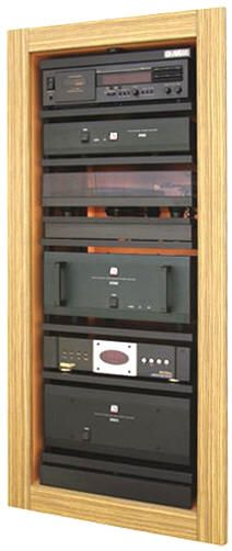 Home Theater In Wall Rack | AVRAK Rotating AV Rack, From My Experience If It