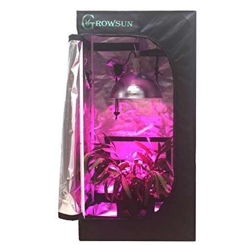 Special Offers - Growsun 20x20x40 Horticulture Mini Grow Tent for Indoor Plant Growing Tents Mylar Hydroponic  sc 1 st  Pinterest & Special Offers - Growsun 20x20x40 Horticulture Mini Grow Tent for ...