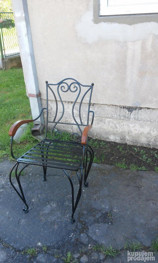 Kovane Stolice I Sto Basta Outdoor Furniture Home Decor