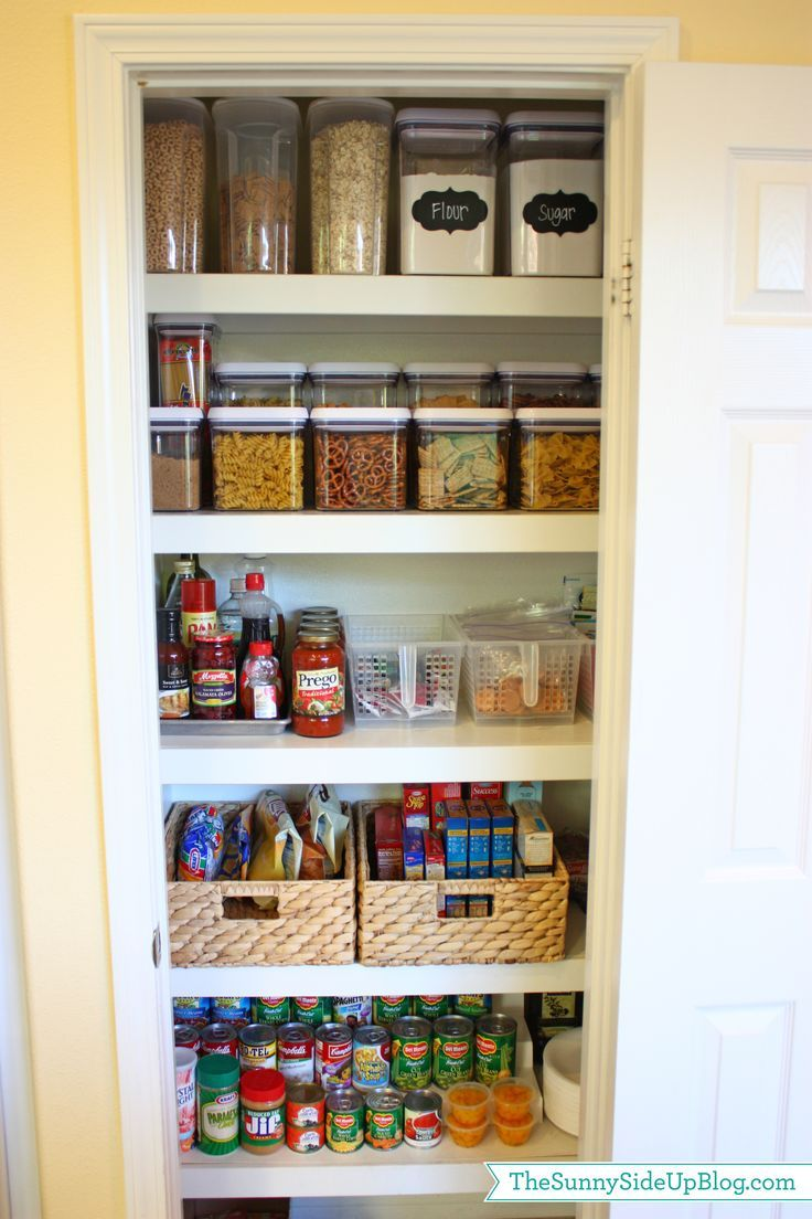 The Two Secrets To Finally Getting Your Home Organized. Kitchen  PantryKitchen ...