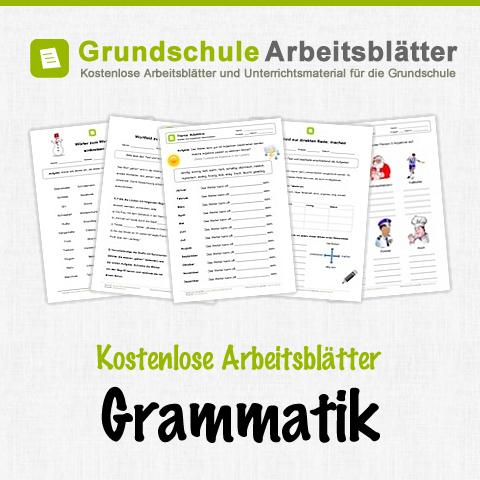 kostenlose arbeitsbl tter und unterrichtsmaterial f r den deutsch unterricht zum thema grammatik. Black Bedroom Furniture Sets. Home Design Ideas