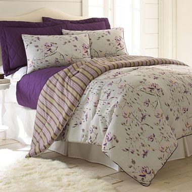 jcpenney.com | Pacific Coast Textiles Chloe 6-pc. Reversible Comforter Set