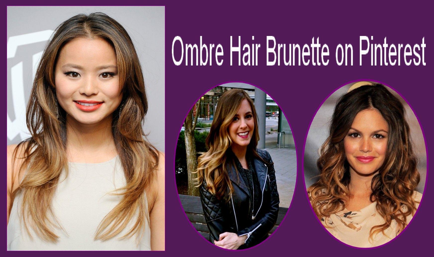 Ombre Hair Brunette on Pinterest