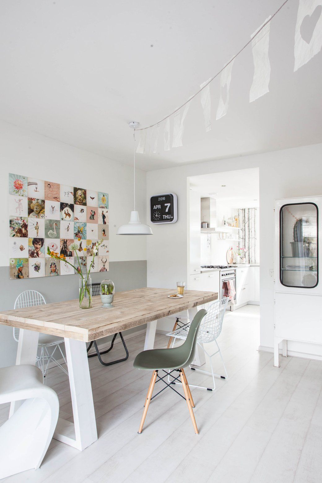 Home Tour: Whimsical Pastels + Family   Whimsical, Decorating and Dining