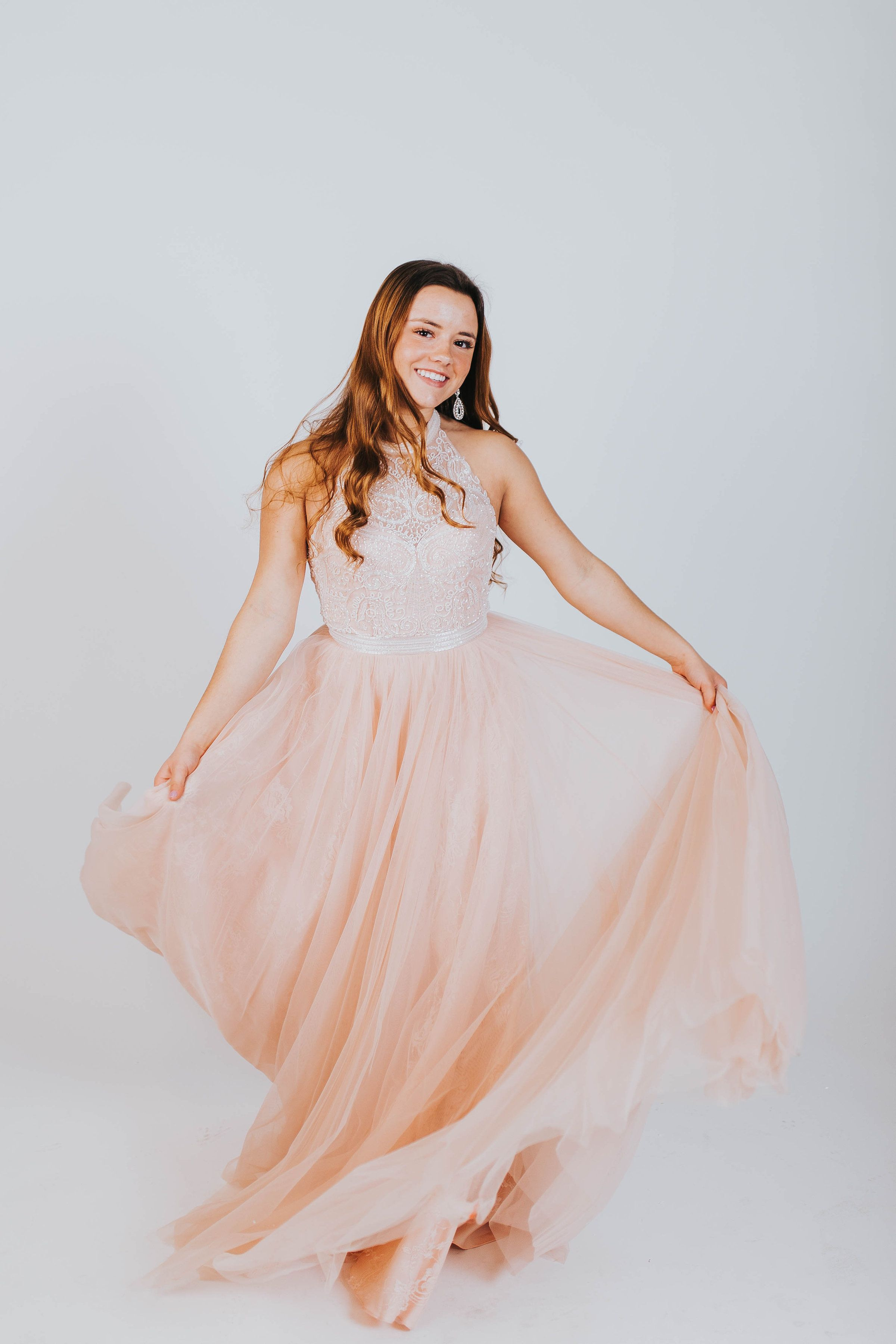 Utah prom dress light pink long dress light pink prom dress dress