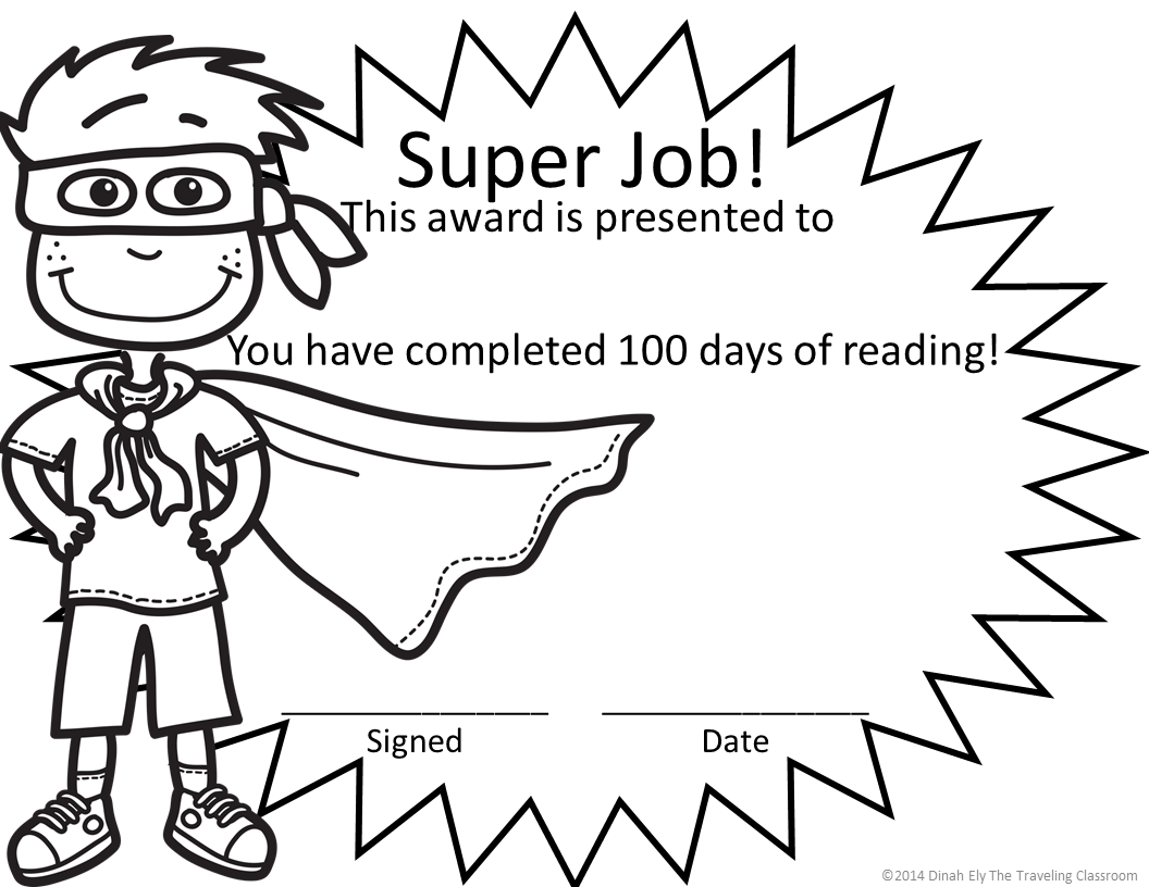 FREE Super Hero AwardS! So fun, my kids loved coloring