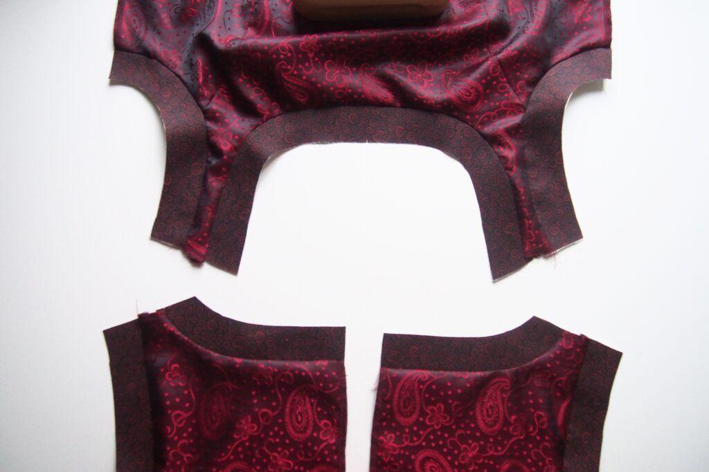 Ein ärmelloses Kleid füttern, Teil 1 » BERNINA Blog ...