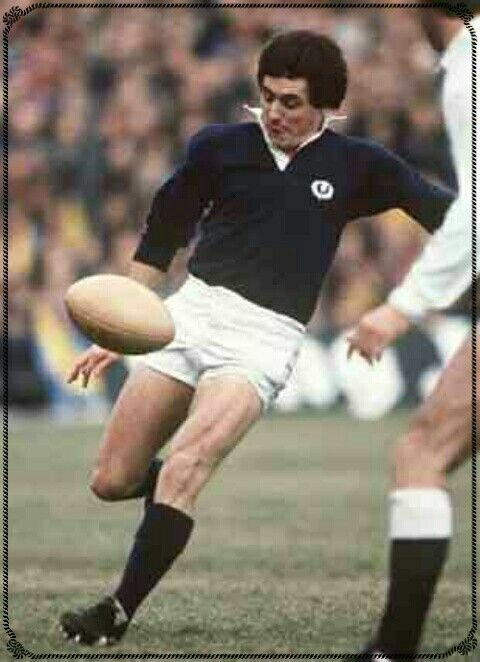 Andy Irvine of Scotland in 1972.