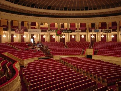 Sala Kongresowa, Warsaw, Poland where Michael will be playing on 10th May as part of his European Tour for 2013.