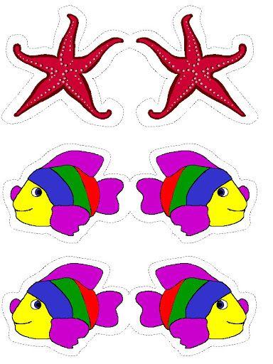 Dibujos para colorear de animales marinos dibujos coloreados y